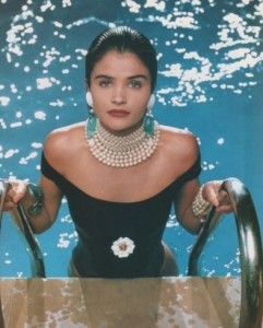Pool chemicals can damage your pearls.